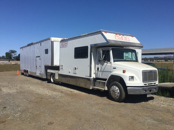 2001 Renegade Toter/trailer  for Sale $75,000