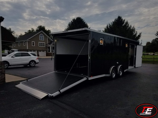 24' United Spread Axle Stage II Race Car Trailer  for Sale $17,495