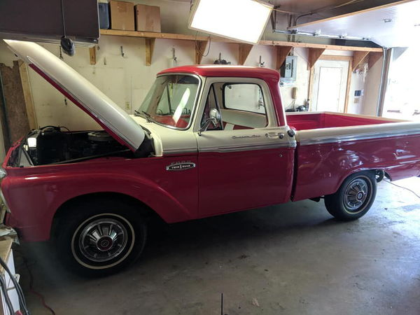 1966 FORD F100  for Sale $27,500