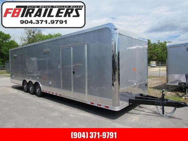 2021 Cargo Mate 32ft Eliminator Series Car / Racing Trailer  for Sale $21,499