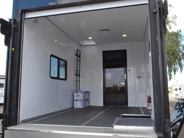 2018 Haulmark V45MG W/ Garage
