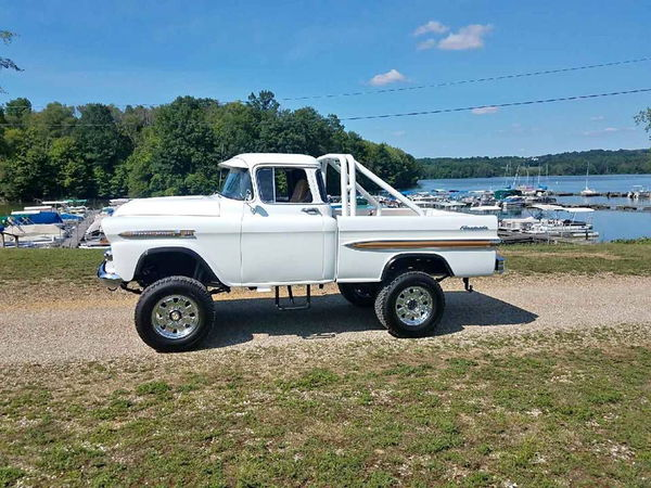 1959 CHEVROLET 3100  for Sale $37,000