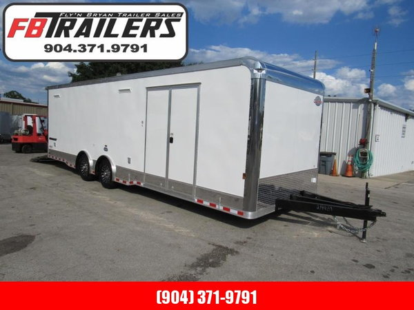 2021 Cargo Mate 28ft eliminator series Car / Racing Trailer  for Sale $21,499