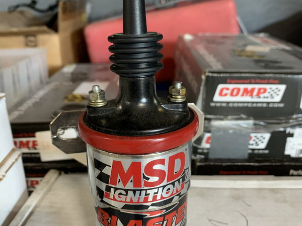 MSD Ignition Red Blaster 3 Coil  for Sale $40