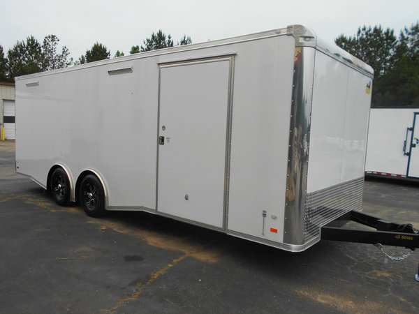 2019 C/W 8.5x24 Loaded Race Trailer