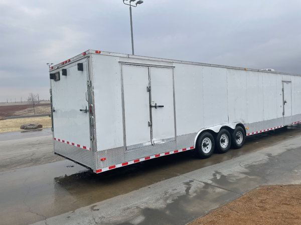 2016 48' FREEDOM Enclosed Car Carrier, Gooseneck Tri-A  for Sale $18,000