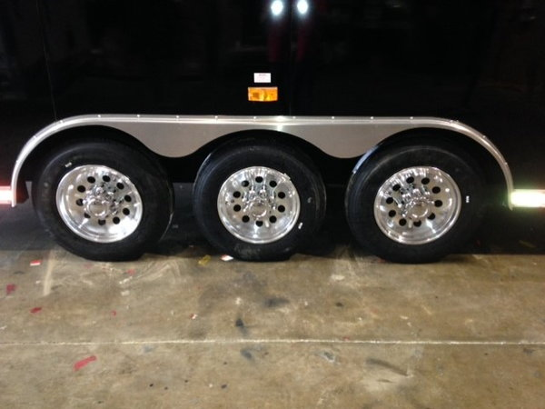 2014 Cargo Mate 53 foot toy hauler trailer price reduction  for Sale $39,995