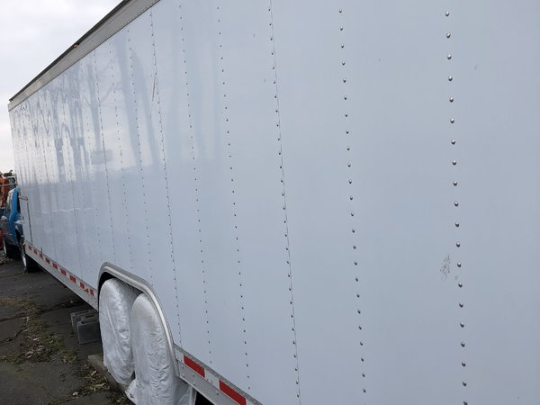 2004 Gold Rush 28' All Aluminum Tag Trailer  for Sale $24,999