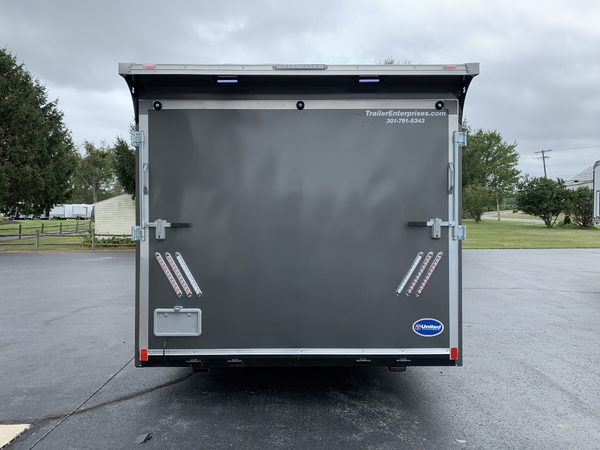 28' United Spread Axle Stage II Race Car Trailer  for Sale $18,995