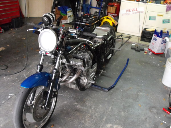drag bike race operation motorcycle trailer complete race re  for Sale $15,000