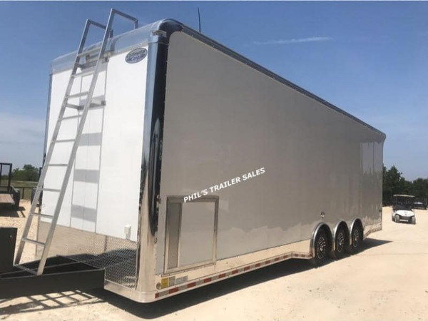 2021 32' Extra Ht loaded Sprint car trailer Continenta  for Sale $31,500