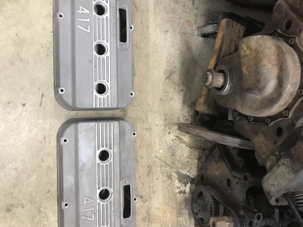 Donovan 417 Valve covers  for Sale $750