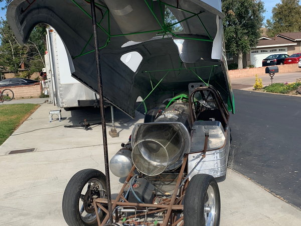 Jet Funny Car  for Sale $39,000