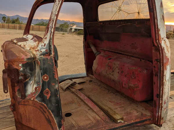 51-52 ford truck cab, doors ,hood two beds  for Sale $1,250