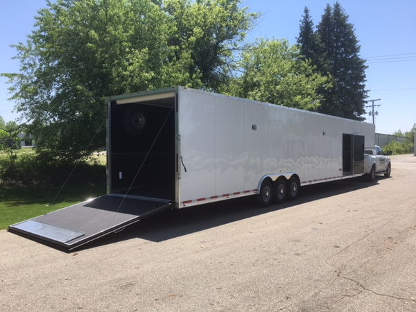 2019 48' Millennium Silver Trailer  for Sale $35,000