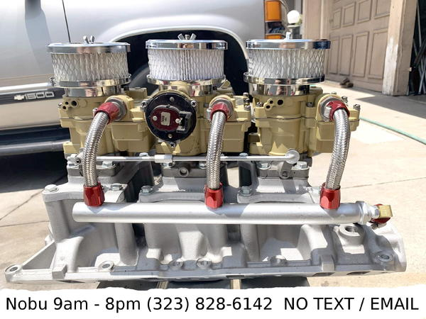Tri-Power Set-Up for Ford 289 302 351 V-8 Engines for sale in MONTEREY  PARK, CA, Price: $3,000