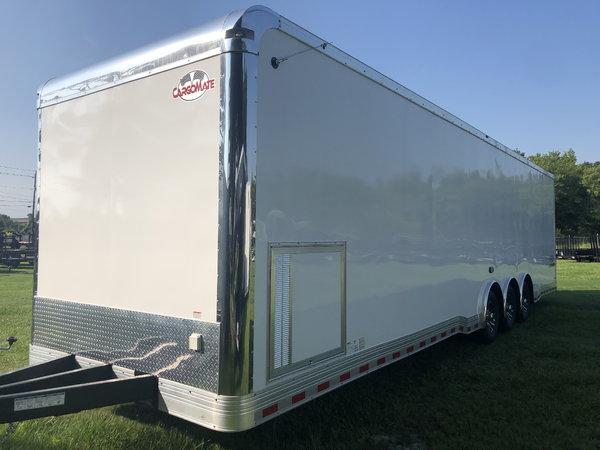 New 2020 8.5' x 34' Cargo Mate Race Trailer