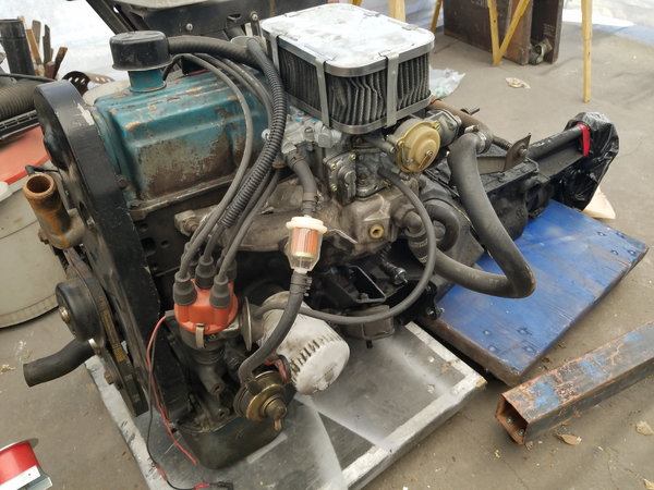 Ford Pinto running drivetrain  for Sale $850