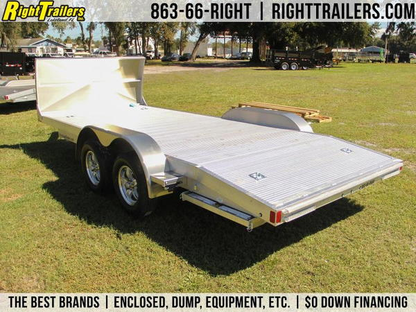 18' ATC All Aluminum Car Hauler w/ Electric Brakes