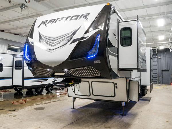 New 2018 Keystone Raptor 355TS 5th Wheel Toy Hauler Travel T  for Sale $64,990