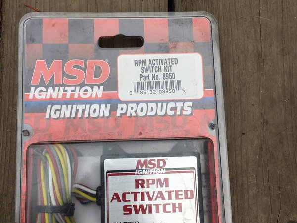 MSD RPM ACTIVATION SWITCH  for Sale $100