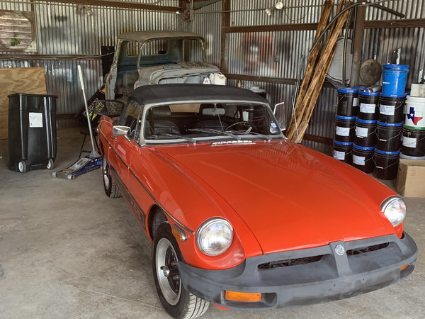 1976 MG MGB  for Sale $8,000