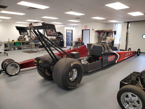 1996 Webber Top Dragster 265' Complete Roller  for Sale $11,000