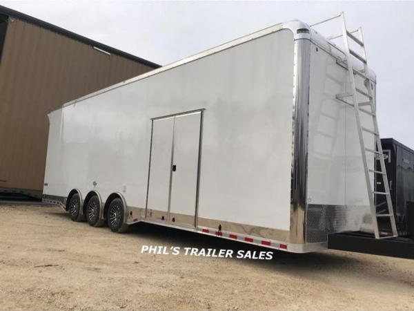 2020 32' Extra Ht loaded Sprint car trailer Continenta  for Sale $29,999