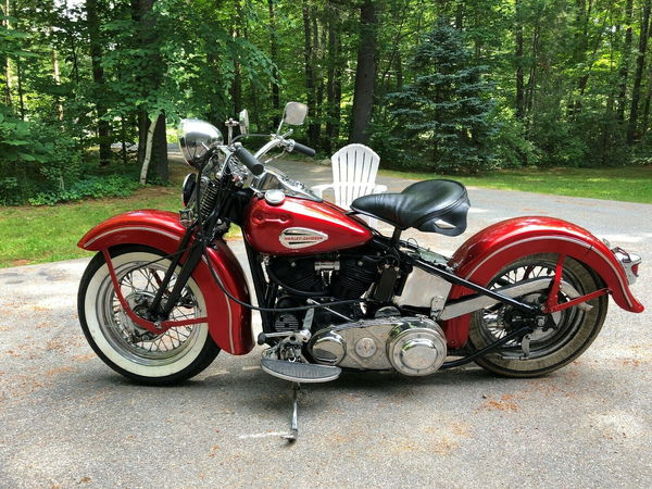 1942 harley davidson knucklehead,  for Sale $21,200