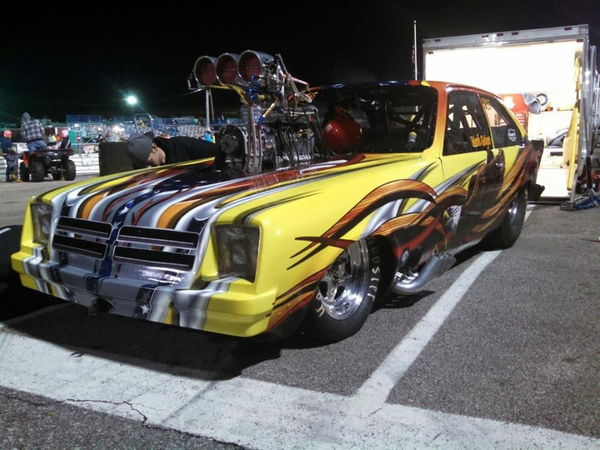 1976 supercharged chevette 105 wheelbase NEW PRICE  for Sale $40,000