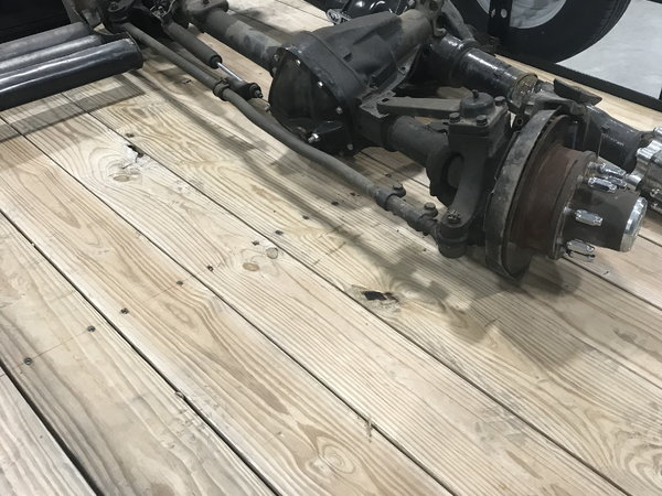 Ford high pinion Dana 60 front and Dana 80 rear  for Sale $7,000