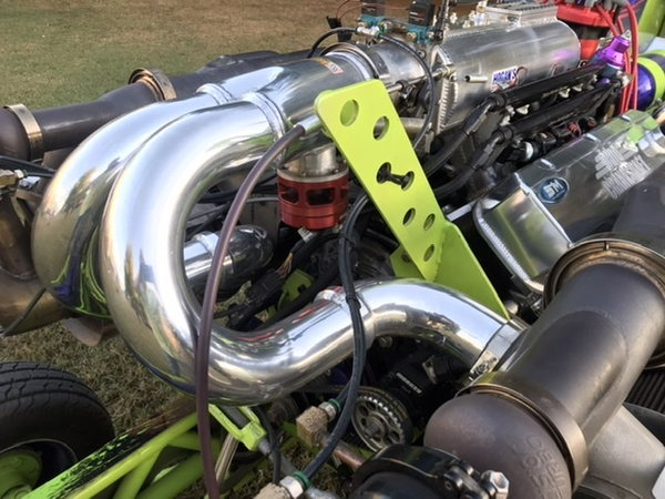 Twin Turbo Modified Pulling Tractor  for Sale $64,500