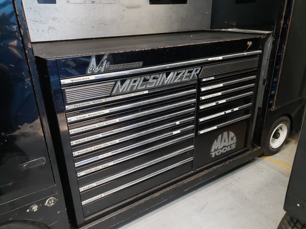 Used Track Day Toolbox  for Sale $7,500