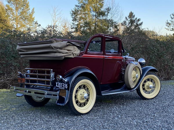 1931 Ford Model A  for Sale $35,000