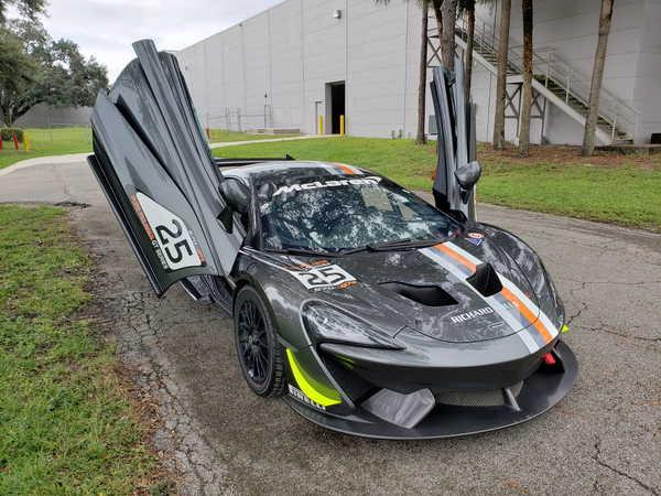 2017 McLaren 570S GT4  for Sale $179,900
