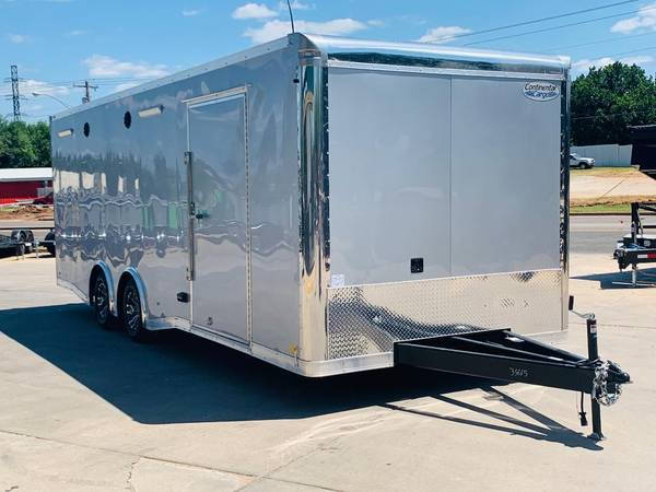 2020, 8 5'X24' CONTINENTAL CARGO ENCLOSED TRAILER for sale in Oklahoma  City, OK, Price: $14,995