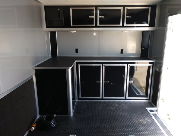 24' Continental  Race Trailer All LED