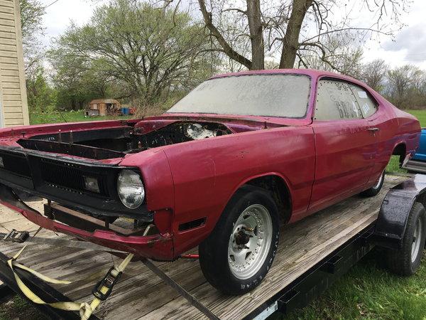 71 Dodge Demon Drag car Mopar Project