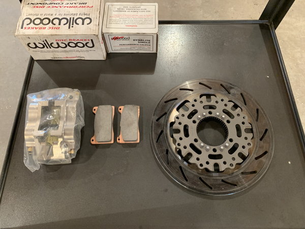 Wilwood Ben Cook Inboard Brake Kit  for Sale $1,000