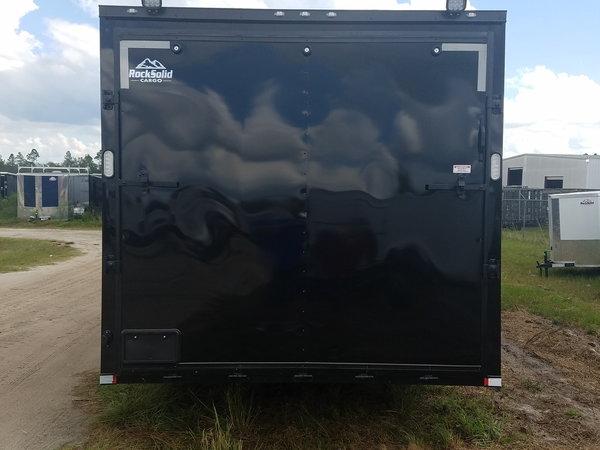 8.5X28TA BLACK/BLACKOUT RACING TRAILER  for Sale $13,599