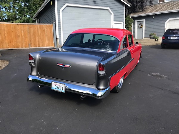 1955 Chev 2 Door Post  for Sale $59,000