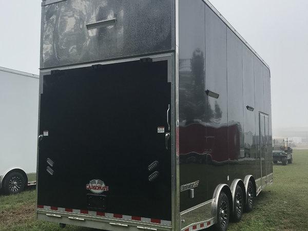 2019 24' Aluminum Stacker Loaded