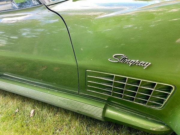 1972 Corvette Convertible Stingray  for Sale $24,800