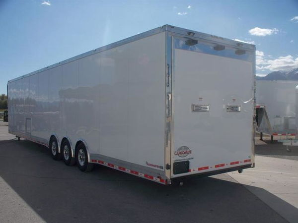 NEW CARGO MATE 8.5X48 RACE TRAILER WITH BATH PACKAGE - $44,9  for Sale $44,900