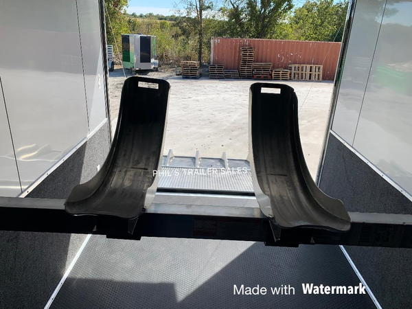 34 DRAGSTER LIFT HAULMARK EDGE PRO RACE TRAILER WITH 7' 10 I  for Sale $28,500