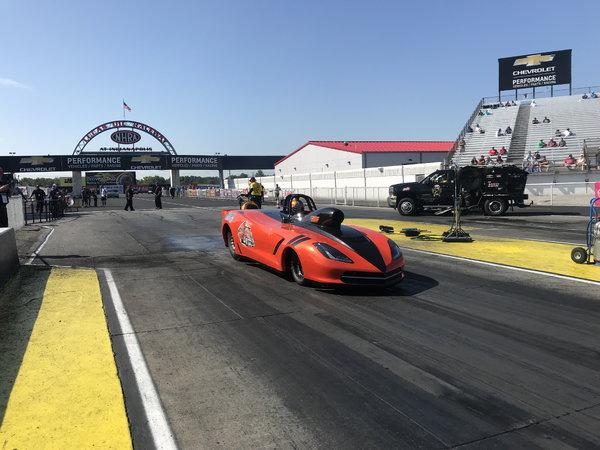 2018 Charlie Stewart Crovette Roadster