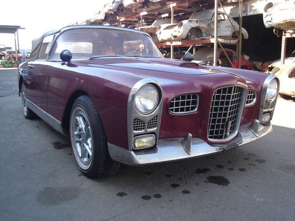 1956 Facel Vega FV2 Project Car  for Sale $35,000