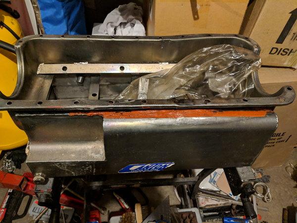 10qt Canton BBF flat bottom oil pan