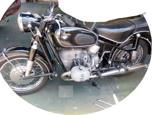 BMW Vintage bike for sale, Must Go!  for Sale $9,000