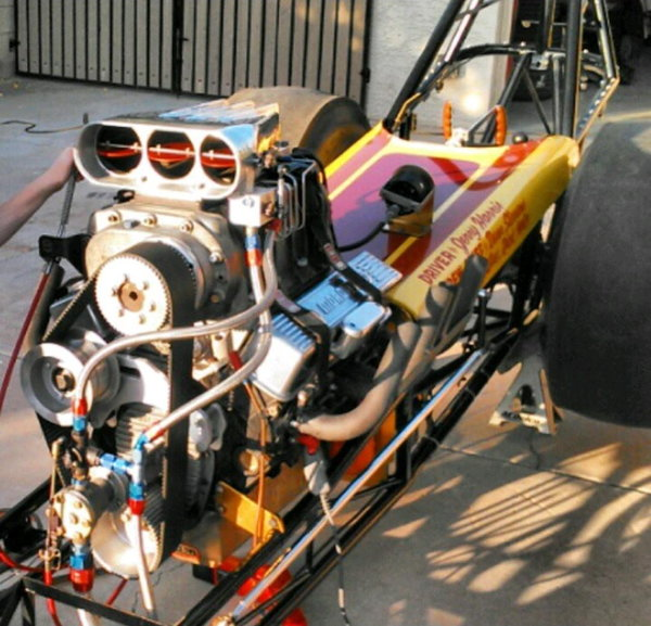 The Defiant Mouse Dragster  for Sale $20,000